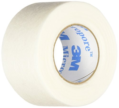 """3m Micropore Paper Tape - Tan, 1"""" Wide -1 Roll [Health & Beauty]"""