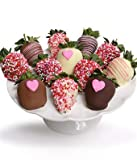 From You Flowers Belgian Chocolate Covered Strawberries 12pc Deal