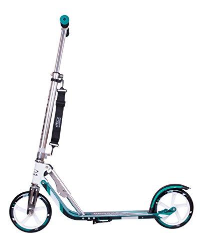 HUDORA 14751 BigWheel 205-Das Original mit RX Pro Technologie-Tret-Roller klappbar-City-Scooter, türkis 4