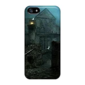 Premium Iphone 5/5s Case - Protective Skin - High Quality For Dark Souls New Londo Ruins