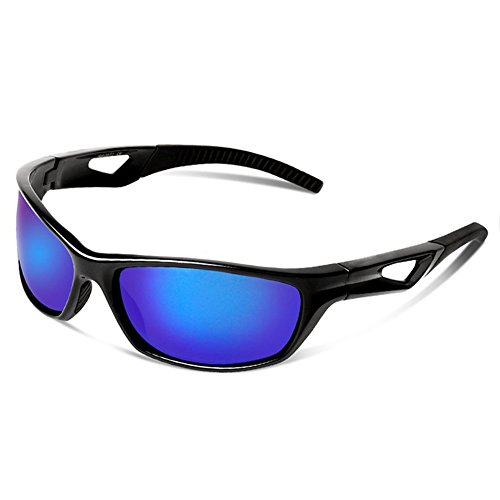 Isafish Polaroid Fishing Sunglasses Outdoor Sports for Men Women with TR Frame Cycling Golf Running Hunting Boating Sunglasses