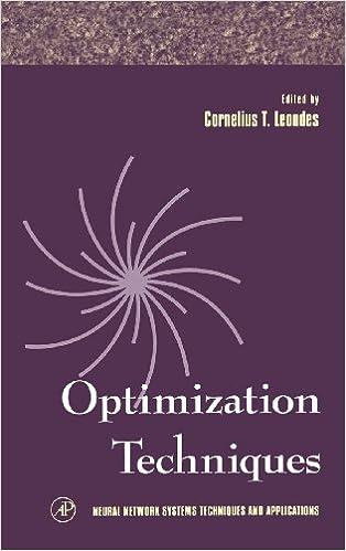 Optimization Techniques Book