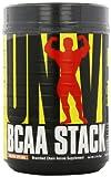 Universal Nutrition BCAA Stack – Branched Chain Amino Acids with Glutamine, Orange Splash