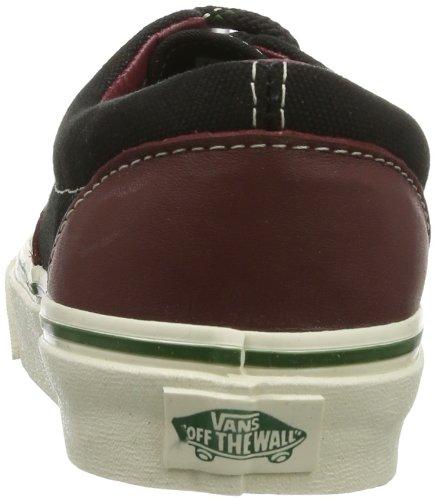 Vans U ERA VVHQB3X Unisex-Erwachsene Sneaker Schwarz ((Leather   14 o)