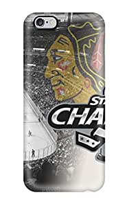 Excellent Iphone 6 Plus Case Tpu Cover Back Skin Protector Chicago Blackhawks (32)