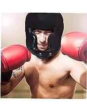 Hainice Boks nakrycie głowy sparingowy kask walka osłona na głowę do chwytania kickboxing karate