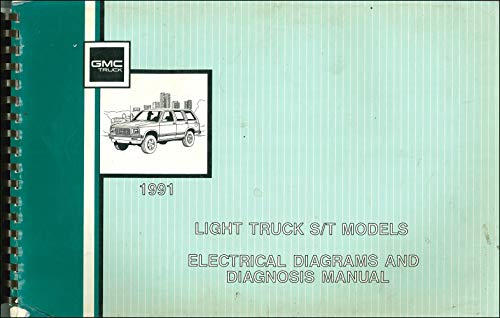 1991 GMC S15 Sonoma Pickup & Jimmy Wiring Diagram Manual Original