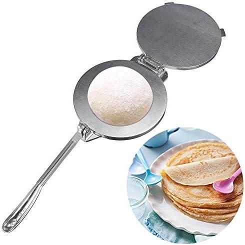 Rich-home Appareils pour Quesadillas Et Tortillas, Tortilla en Alliage D'aluminium Pression De Pâte De 20Cm