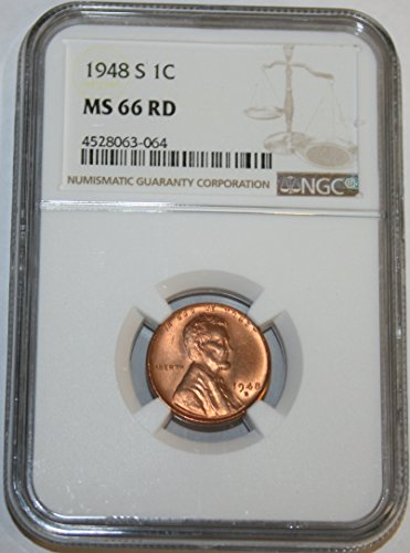 1948 S Lincoln Cent MS66 NGC