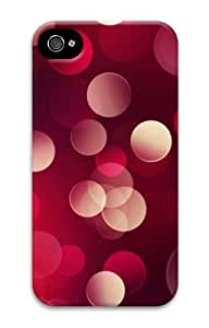 iphone 4 case funny covers Red circle 3D Case for Apple iPhone 4/4S