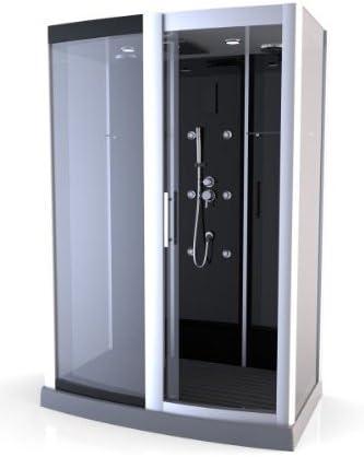aurlane cab060 de cabina de ducha negro: Amazon.es: Bricolaje y ...