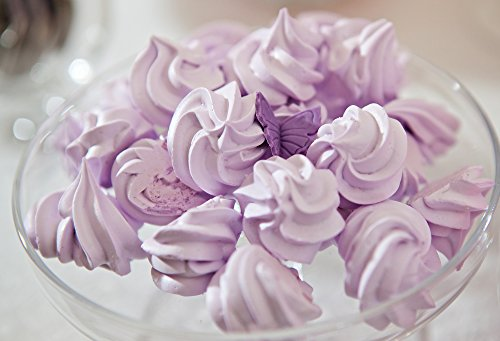 Lavender Vanilla Body Butter - Handmade Vegan All Natural Lavender Vanilla Body Butter (8Fl Oz )