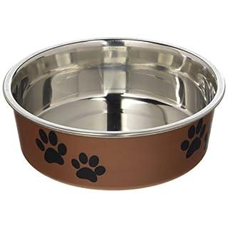Loving Pets Metallic Bella Bowl, Small, Copper