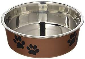 Amazon.com: Bol metálico para mascotas Bella, de ...