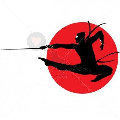 Flying Ninja Samurai - Tatuajes temporales por temptatz ...