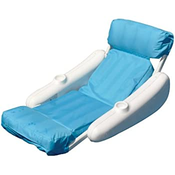 Sunchaser sling floating swimming pool lounge - Swimming pool floating lounge chairs ...