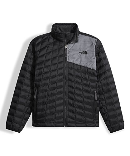 The North Face Big Boys' Thermoball Full Zip Jacket - black, s/7-8 by The North Face