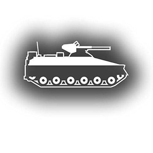 Spz Marder armored tank infantry protecting Bundeswehr Grenadier (White 15 x 7cm) - Sticker Wall Decoration