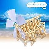 Wind Powered Walking Walker Mini Strandbeest DIY Assembly Model Kits by Completestore