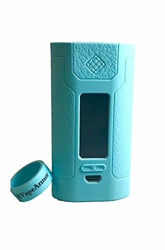 VapeArmor, Wismec Predator 228 Sleeve Case and Tank Band (Turquoise)