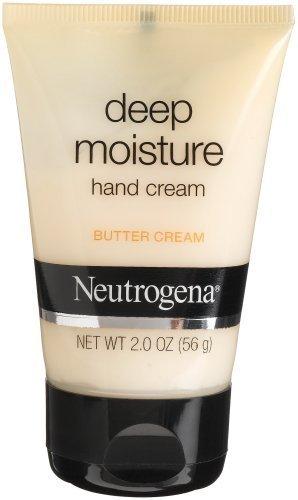 Neutrogena Deep Moisture Hand Cream, Butter Cream - 2 oz(56 g)