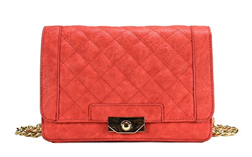 Scarleton Square Quilted Flap Crossbody Bag H1967