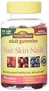 Nature Made Hair Skin And Nails Gummies - 90 Count