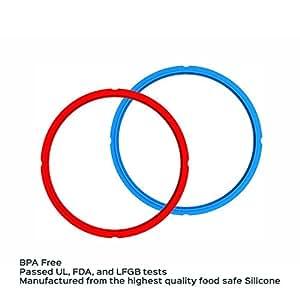 Instant Pot Sealing Rings – 2-Pack, 6 Quart
