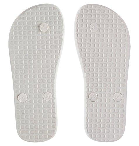 DC Shoes Spray Graffik - Flip-Flops - Sandalen - Mädchen - EU 32 - Mehrfarbig