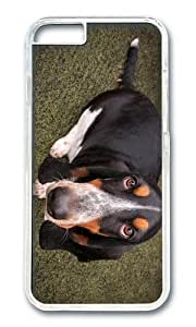 Adorable basset dog Hard Case Protective Shell Cell Phone Cover For Apple iphone 4 4s - PC Transparent