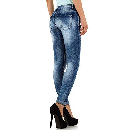 Used Look Low Skinny Jeans Für Damen , Blau In Gr. S bei Ital-Design