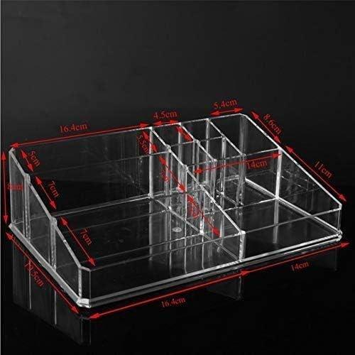 XWYSSH主催 透明な機能化粧品収納ボックスプラスチックポリッシュ口紅化粧品のメイクアップオーガナイザー XWYSSH