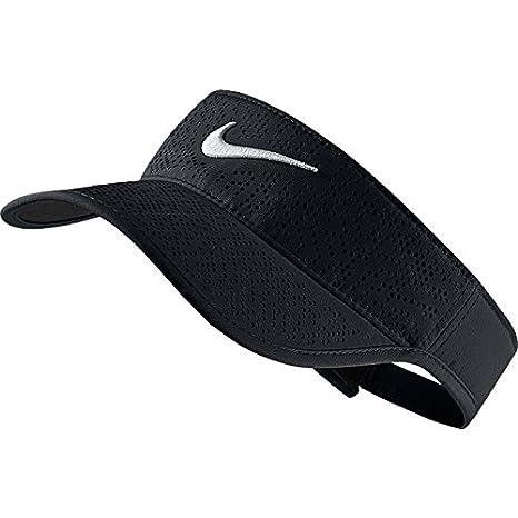67f9c4d9e75 Image Unavailable. Image not available for. Color  Nike Women s 2016 Tech Golf  Visor (Black)