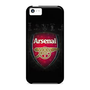 Iphone High Quality Tpu Case/ Arsenal Lockscreen 3 JQMZK12701ivezD Case Cover For Iphone 5c