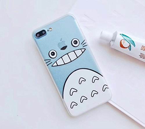 uk availability 0f205 98228 WinVI My Neighbor Totoro Case for I phone 7/8, iphone 7 Plus/8 Plus and  Iphone X) (Totoro 2, Iphone X)