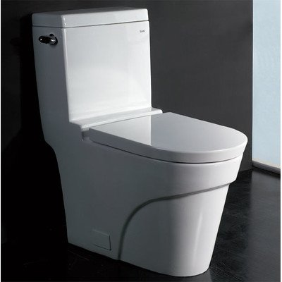 Eago TB326 Modern One Piece Ultra Low Flush Eco-Friendly ...