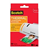Scotch Thermal Laminating Pouches, 5 x 7-Inches, Photo Size, 100-Pouches (TP5903-100)