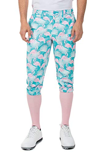 Tipsy Elves Men's Pink Birdie Knickers: Small