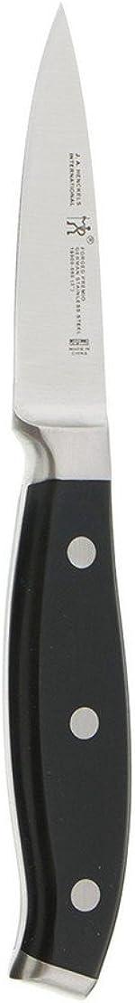 HENCKELS Forged Premio Paring Knife, 3-inch, Black/Stainless Steel