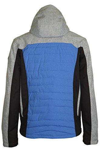 Killtec Hybrid Da Blue Jacket Zaddok Uomo 1xPqUrt1