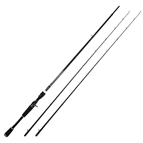 KastKing Perigee II Fishing Rods - Fuji O-Ring Line Guides, 24 Ton Carbon Fiber Casting and Spinning Rods - Two Piece Twin-Tip Rods and One Piece ()