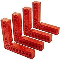 Magiin 4 stuks positionering pleinen, houtbewerking Tool, klemmen 90 graden hoeken voor fotolijsten, dozen, kasten of…