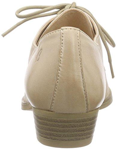 Beige Beige Caprice derby SAND 355 Mujer de 23201 cordones Zapatos PwqpYHZ