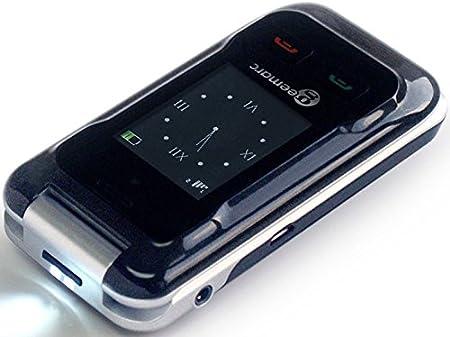 Geemarc Telecom S.A cl8500 Senior Teclas Grandes Teléfono Móvil (Tecla de Emergencia, Ice de función, cámara, Bluetooth, estación de carga de mesa), color negro: Amazon.es: Electrónica