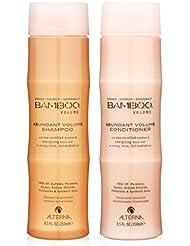 Bamboo Volume Abundant Volume Shampoo and Conditioner Set, 8.5-Ounce