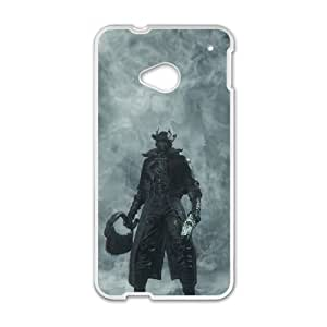 HTC One M7 Cell Phone Case White_Bloodborne_005 Pblog