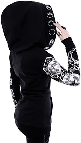 Restyle Clothing LUNAR Hoodie - Bluse, Kapuze mit Mondphasen