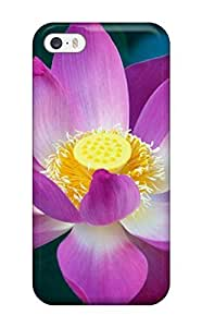 Excellent Design Mac Os X Lion Flower Case Cover For Iphone 5/5s