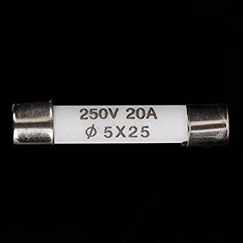 Componentes eléctricos fusible del tubo de cerámica para ...