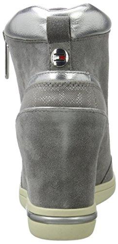 Tommy Hilfiger S1285ebille 3c2, Scarpe da Ginnastica Basse Donna Grigio (Light Grey)